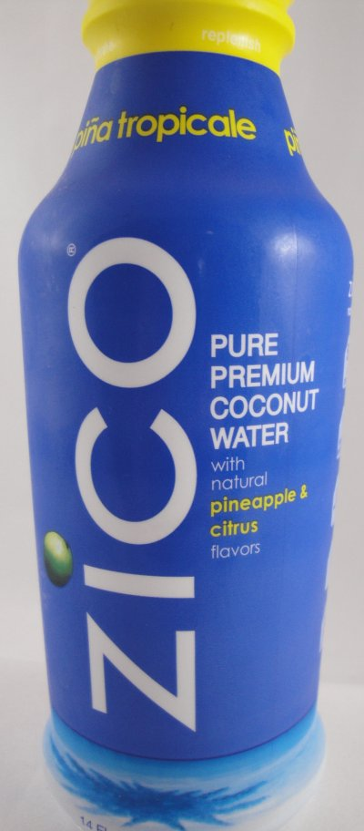Pure Coconut Water With Pineapple