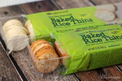 Baked Rice Thins, Lime And Black Pepper Flavored