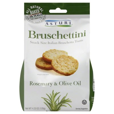 Bruschettini With Rosemary & Olive Oil