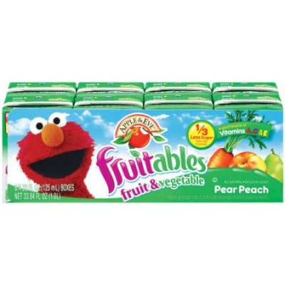 Juice Beverage,Fruitables Pear Peach 4.23 Oz