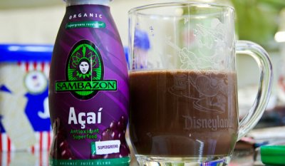 Juice Blend, Organic, Acai, Supergreens Revolution