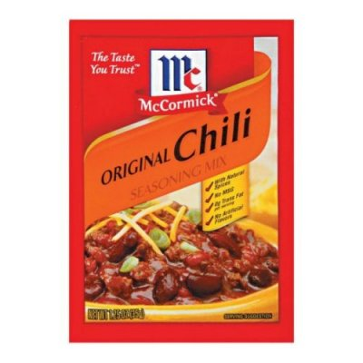 Seasoning Mix, Chili Mild 30% Less Sodium