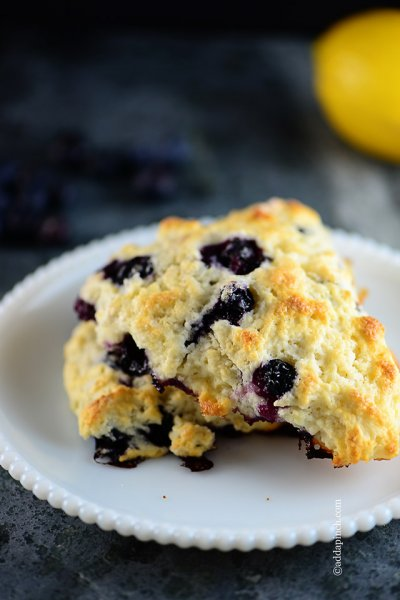 Wild Blueberry Cookies