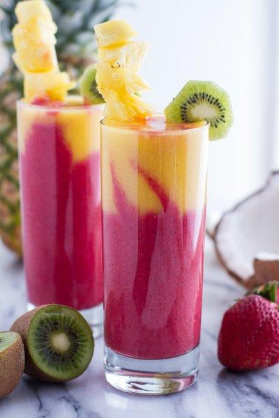 Mixed Fruit Smoothie, Orange Juice Based, 16 fl oz ...