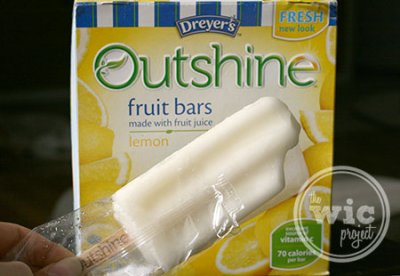 Outshine, Grape Fruit Bars