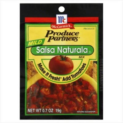 Seasoning Mix, Salsa, Mild