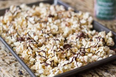 Zesty Pepper Butter Popcorn