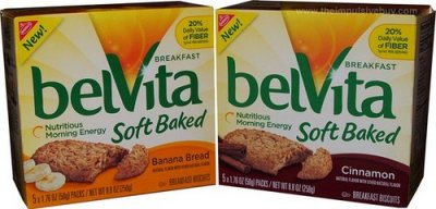 Belvita Breakfast, Cranberry Orange, Breakfast Biscuits