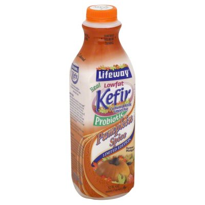 Kefir, Pumpkin Spice, Probiotic, Limited Edition