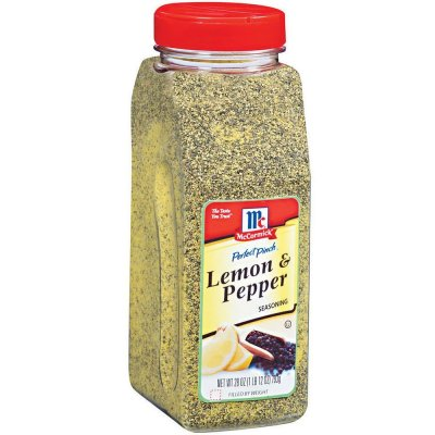 Lemon Pepper and Seasoning Salt