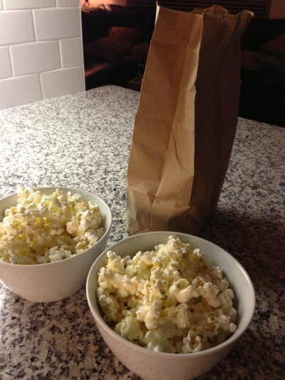 Organic Butter Flavor Microwave Popcorn