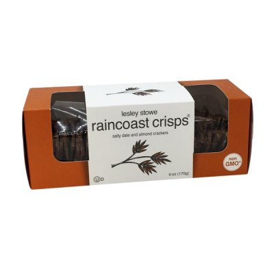 Raincoast Crisps Salty Date and Almond Crackers