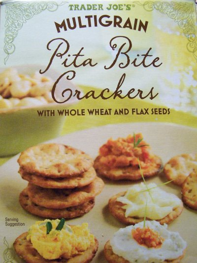 Sea Salt Pita Crackers