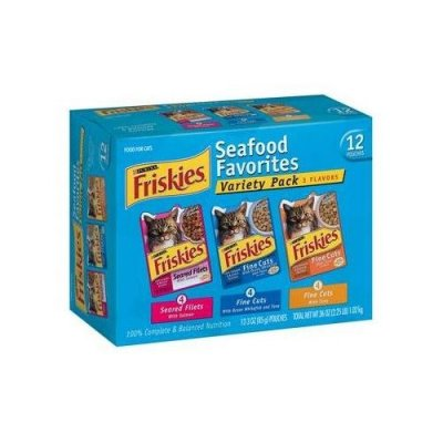Seafood And Turkey Favorites, Variety Pack