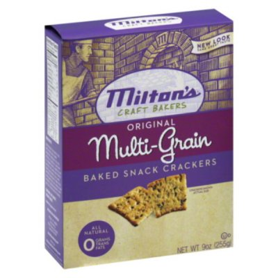 Baked Snack Crackers, Original Multi-Grain