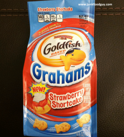 Goldfish, Grahams, Strawberry Shortcake