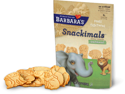 Organic Animal Cookies Made With Whole Grain