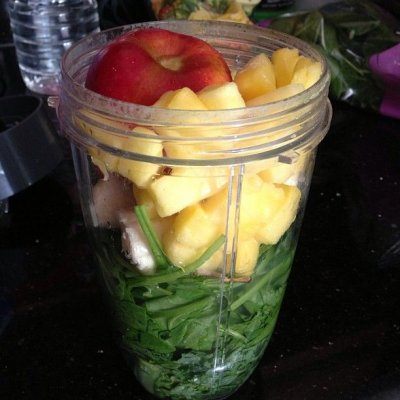 Pineapple Banana, Kale Spinach