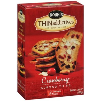 Thin Addictives, Cranberry Almond Thins
