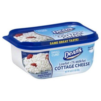 Cottage Cheese, Lowfat, Large Curd, Pot Style