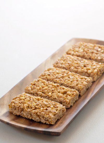 Crunchy Granola Bars, Oats 'n Honey