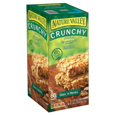 Crunchy Granola Bars, Oats'n Honey