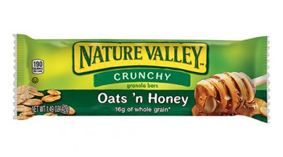 Granola Bar, Crunchy, Oats & Honey