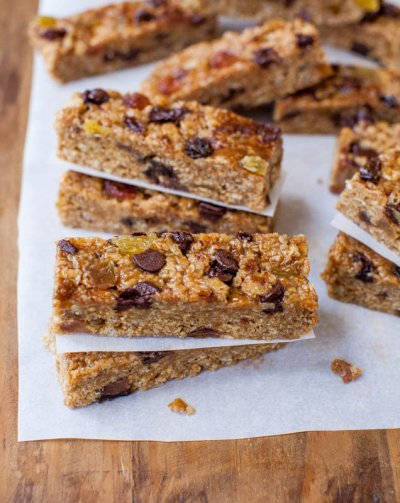 Chewy Granola Bars, Chocolate Chunk