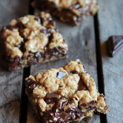 Oatmeal And Chocolate Chunk, Rolled Oats Chocolate Bars