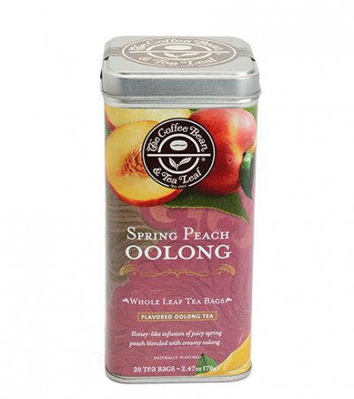 Organic Oolong Tea With Natural Peach Flavor