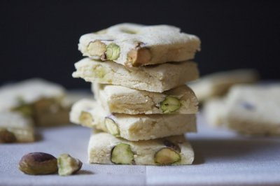 Almond Thins, Pistachio