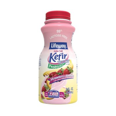 Lowfat Kefir, Cultured Milk Smoothie, Chocolate Truffle