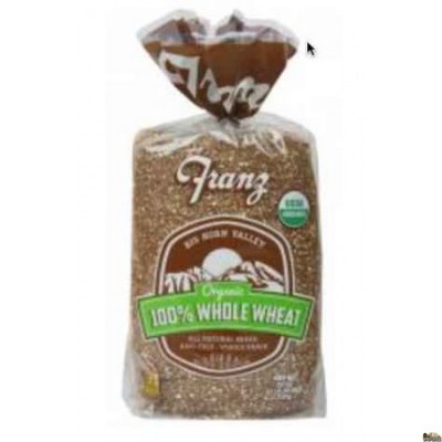 100% Whole Wheat Big Horn Valley Bread