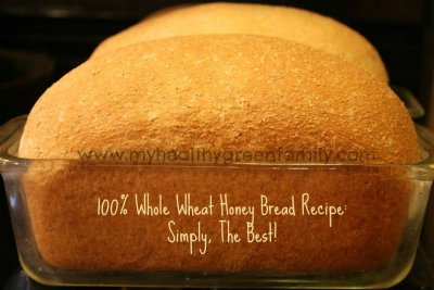 100% Whole Wheat With Honey Bread