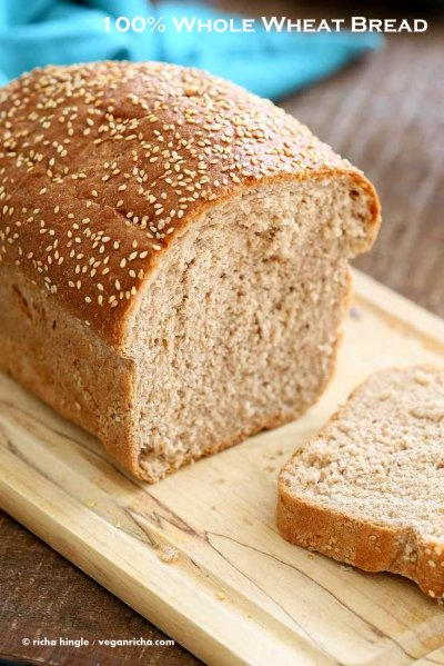 Bread, 100% Whole Wheat