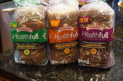 Healthfull, Flax & Sunflower, 100% Whole Grain Bread