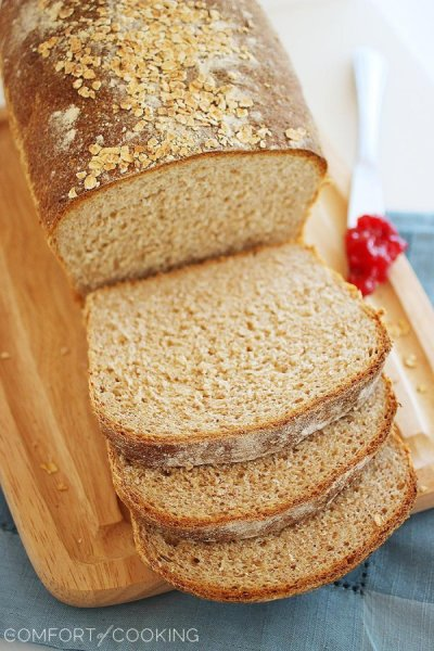 Organic Touch of Honey Whole Wheat Small Batch Bread