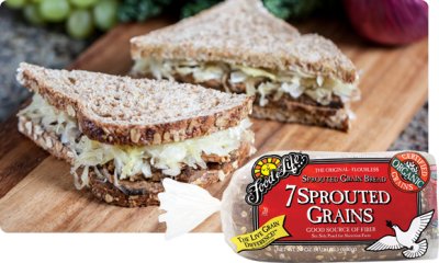 Sprouted Seven-Grain Bread