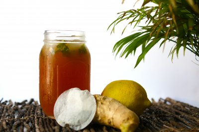 Iced Tea, Lemon Ginger