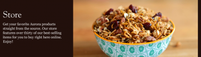 Forest's Bounty Trail Mix With Granola