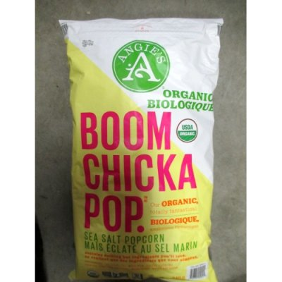 Organic Boom Chicka Pop, Sweet And Salty Kettle Corn