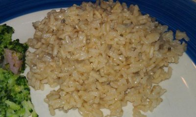 Garlic Brown Rice