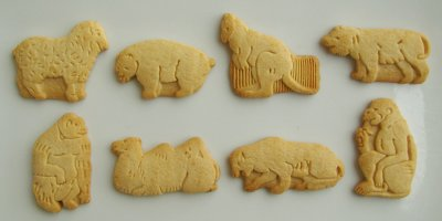 Graham Style Animal Cookies