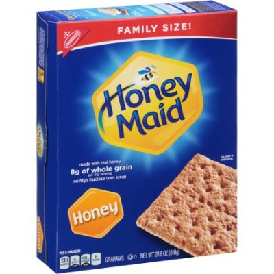 Honey Grahams, Made W/Real Honey