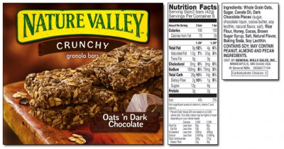 Oats n Chocolate Crunchy Granola Bar