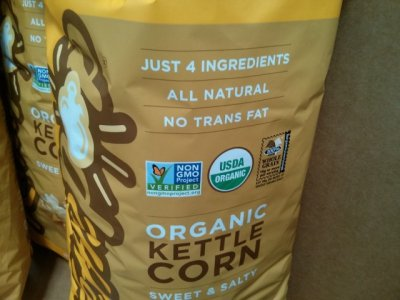 Organic Popcorn, Sweet & Salty Kettle Corn