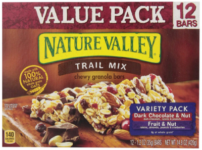 Dark Chocolate Fruit & Nut Bars, Variety Pack