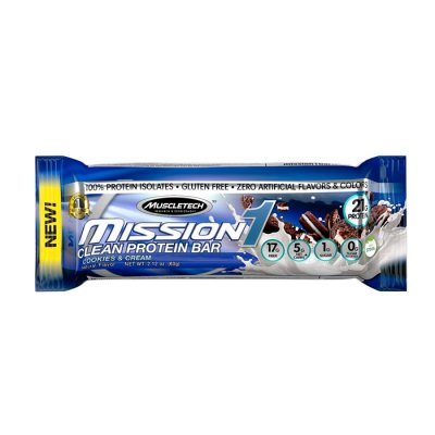 Mission 1 Clean Protein Bar, Chocolate Brownie