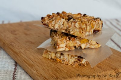Nut, Fruit & Honey Bar, Cranberry