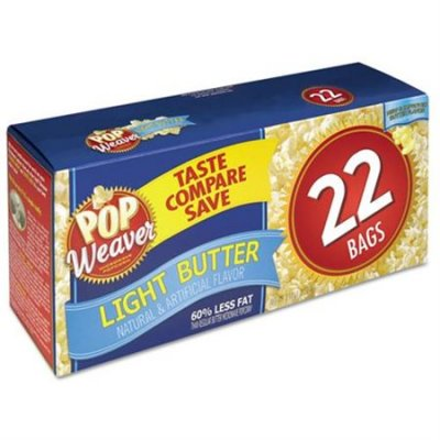 Popcorn,Microwave Light 3 Pk - 3 Oz Bags